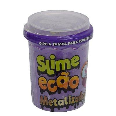 Slime Ecão Metalizado - 110g - Roxo - DTC
