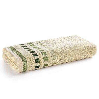 Toalha de Banho Calera - Amarelo Claro e Verde - Karsten