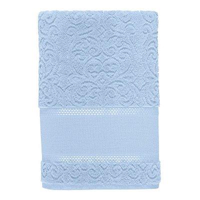 Toalha de Rosto Para Bordar Melina II - Baby Blue - Karsten