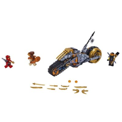 Lego Ninjago - Moto Off Road do Cole - 212 peças - Lego