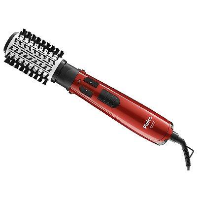 Escova Rotativa Spin Brush - Vermelha - Philco