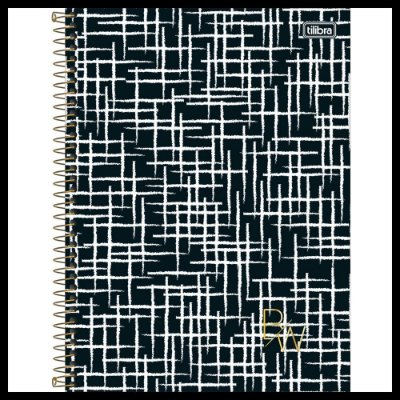 Caderno B&W - Estiloso - 80 Folhas - Tilibra