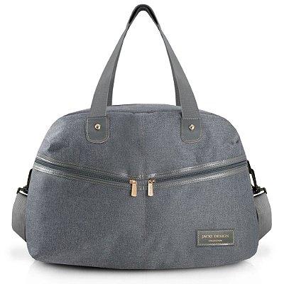 Bolsa de Viagem Be You - Cinza - Jacki Design