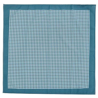 Toalha de Mesa Set Picnic Xadrez - Azul - Karsten