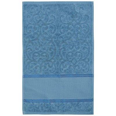 Toalha de Lavabo Para Bordar Melina II - Azul - Karsten
