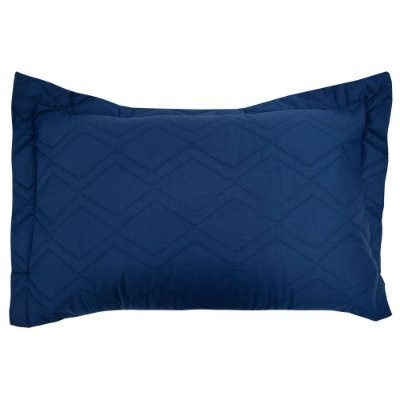 Porta Travesseiro Innovi - Kim Blue Zig Zag - Kacyumara