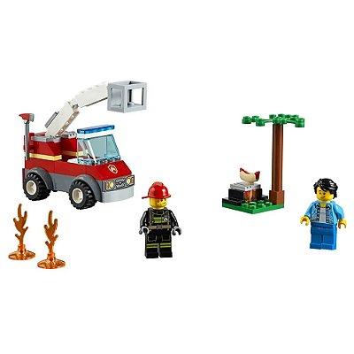 Lego City - Extinção de Fogo no Churrasco