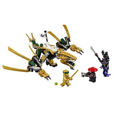 Lego Ninjago - Dragão Dourado