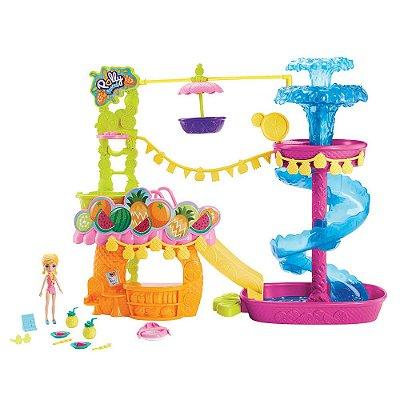 Polly Pocket - Parque Aquático dos Abacaxis - Mattel