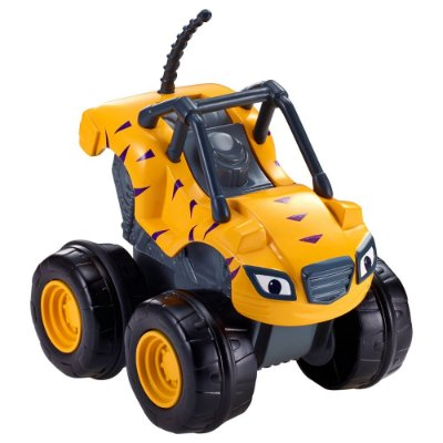 Carro Acelerador Stripes - Blaze And The Monsters Machine - Fisher Price