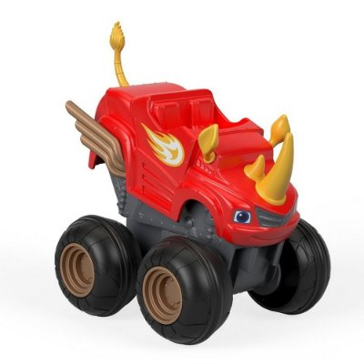 Carro Acelerador Blaze Rinoceronte - Blaze And The Monsters Machine - Fisher Price