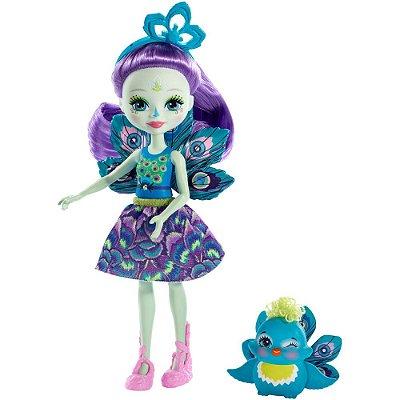 Enchantimals - Patter Peacock e Flap - Mattel