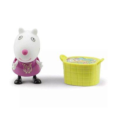 Boneca Susy Ovelha Com Cesta - Peppa Pig - DTC