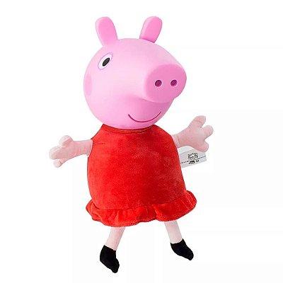 Boneca Peppa Pig com Som - Estrela