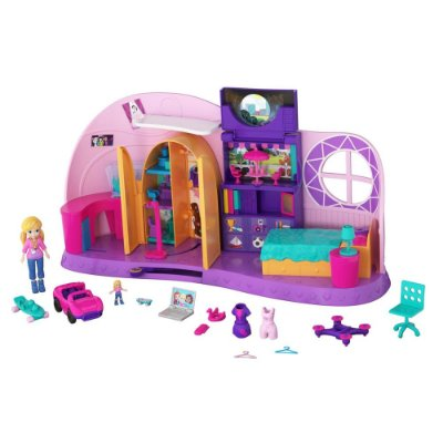 Quarto Da Polly Pocket - Mattel