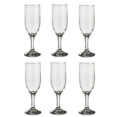 Conjunto Champagne Finesse - 6 Peças - Top Line