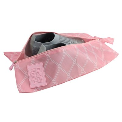 Bolsa Para Sapato Detalhada - Rosa - Jacki Design