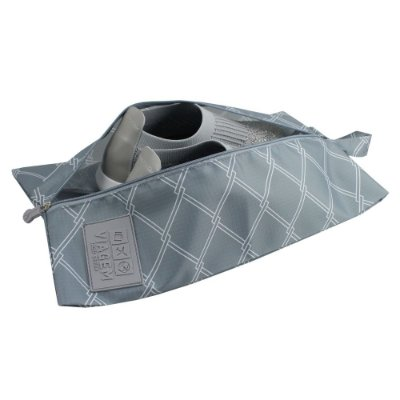 Bolsa Para Sapato Detalhada - Cinza - Jacki Design