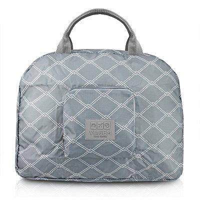 Bolsa de Viagem Dobrável - Cinza - Jacki Design