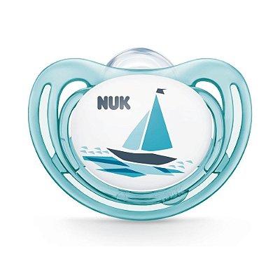 Chupeta Freestyle Max Air Flow - Barquinho - Fase 3 - Nuk