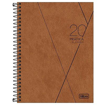 Agenda Planner Prátika 2020 Caramelo - Tilibra