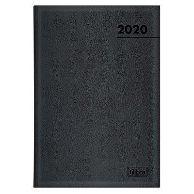 Agenda Diária Executiva Costurada Master 2020 - Tilibra
