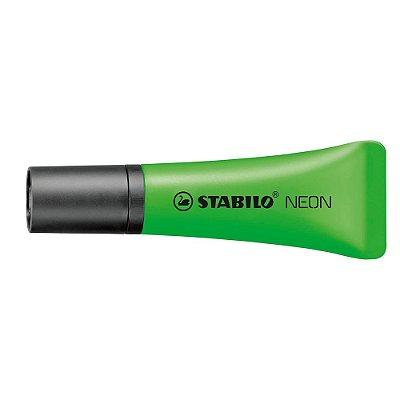 Marca Texto Bisnaga Neon Verde - Stabilo