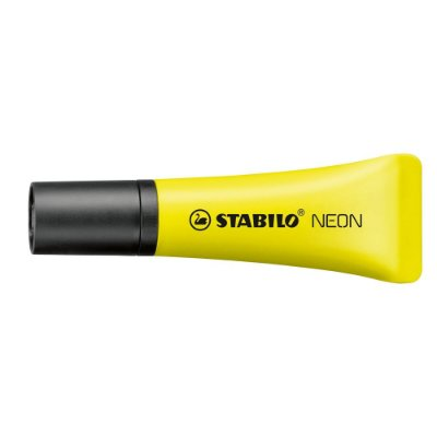 Marca Texto Bisnaga Neon Amarelo - Stabilo