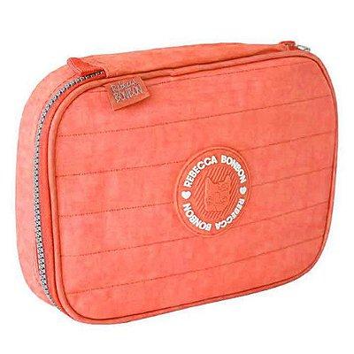 Estojo Box Rebecca Bonbon - Coral - Clio Style