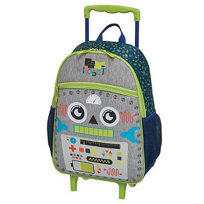 """Mochila de Carrinho 16"""" Pack Me Robot - Pacific"""