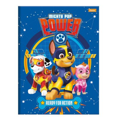 Caderno Brochura Patrulha Canina Power - 96 Folhas - Foroni