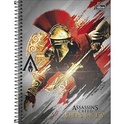 Caderno Assassin's Creed Odyssey - Batalha - 160 Folhas - Tilibra