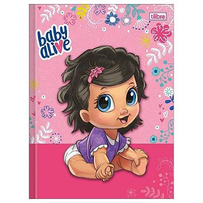 Caderno Brochura Baby Alive Morena - Tilibra