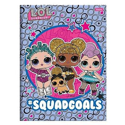 Caderno Brochura LOL - Squad Goals - 96 Folhas - Foroni