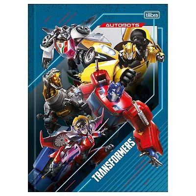 Caderno Brochura Transformers - Autobots - 80 Folhas - Tilibra