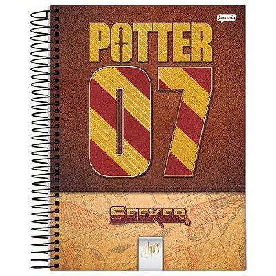 Caderno Harry Potter - Potter 07 Quadribol - 96 folhas - Jandaia
