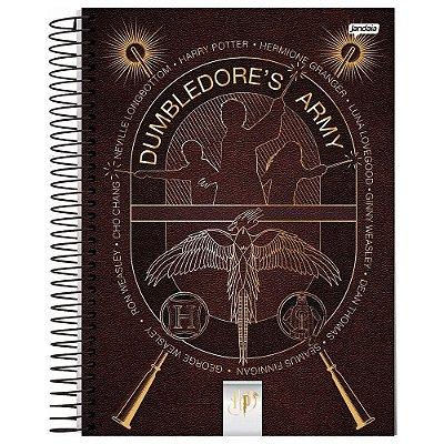 Caderno Harry Potter - Armada de Dumbledore - 96 folhas - Jandaia