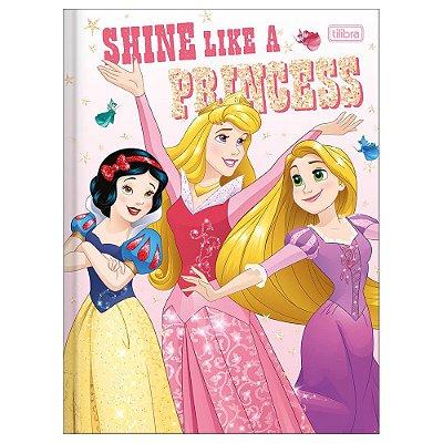 Caderno Brochura Princesa Shine - Tilibra