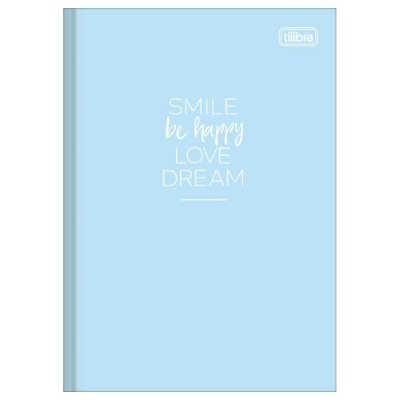 Caderno Brochura Happy Azul - Tilibra