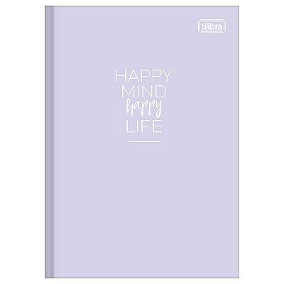 Caderno Brochura Happy Lilás - Tilibra