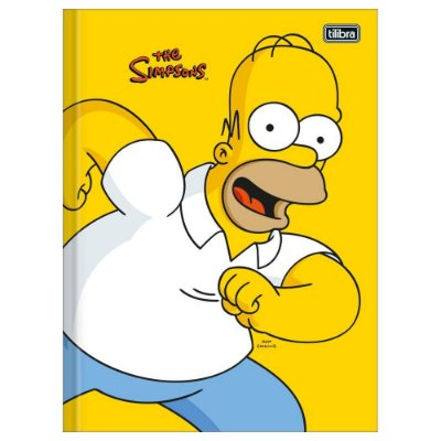 Caderno Brochura The Simpsons - Homer - 48 Folhas - Tilibra
