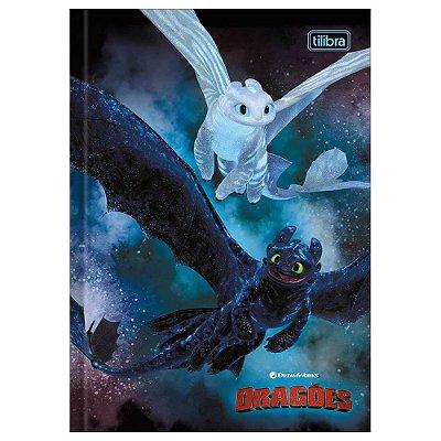 Caderno Brochura Como Treinar seu Dragão - Banguela e Fúria da Luz - Tilibra