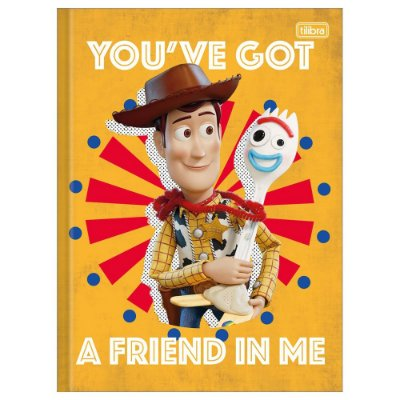 Caderno Brochura Toy Story 4 Friend - 80 Folhas - Tilibra