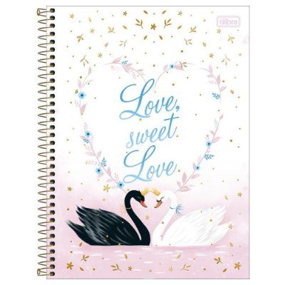Caderno Royal - Love Sweet - 80 Folhas - Tilibra