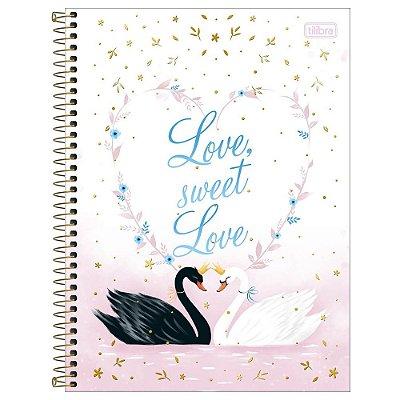 Caderno Royal - Love Sweet - 80 Folhas - Tilibra