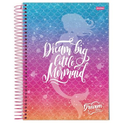 Caderno Dream Line - Dream Big - 96 Folhas - Jandaia