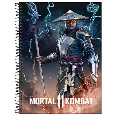 Caderno Mortal Kombat 11 - Kung Lao - 80 Folhas - Tilibra