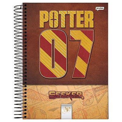 Caderno Harry Potter - Potter 07 Quadribol - 200 folhas - Jandaia
