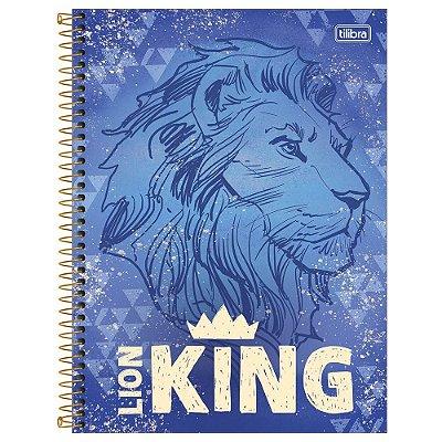 Caderno O Rei Leão - Simba - 160 Folhas - Tilibra