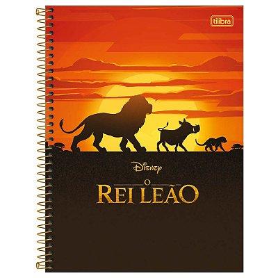 Caderno O Rei Leão - Hakuna Matata - 160 Folhas - Tilibra